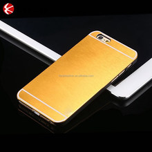 New Fashion Ultra Slim Aluminum Brushed Metal Hard Back Cover Case For IPHONE6