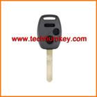 2 + 1 botão CR-V em branco shell chave remoto sem porta-chaves com o logótipo, groove chip para for Honda
