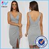 wholesale sex clothes for women deep V-neck dress for women