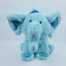 BLUE ELEPHANT PLUSH DOLL
