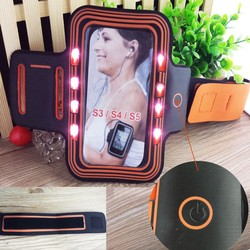 For Samsung galaxy s6 s5 s4 LED Armband for running