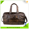 vintage style coffee color fashion genuine leather messenger bag for men