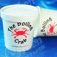 disposable single soup cup