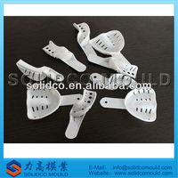 Plastic dental spoon mould