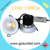 super brightness 1160-1300lm 10w cob led downlights