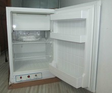 Noiseless absorption mini refrigerator with 3 way energy