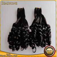 Popular Aunty Funmi Hair Romance Curl Spring Curl 100% Virgin Brazilian Remy Human Hair Extensions 12''--32'' 3 pcs lot DHL Free