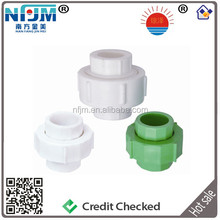 Water supply plastic fitting white ppr union
