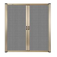Aluminum alloy retractable insect screen window