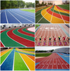 Rubber Running/ Jogging Track Material, Synthetic Rubber Running Track Materia-FN-D-150642