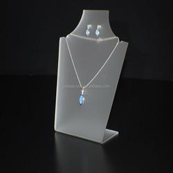 Custom 100% handmade acrylic necklace display stand wholesale