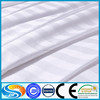 hotel 100% cotton 300T satin stripe fabric uesd in bedding pillow duvet