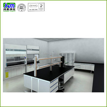 All steel frame dental laboratory workbench for lab room