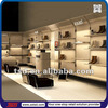 TSD-S031 custom luxury retail display shoe store decoration/shop decoration stand/shoe rack designs wood showcase