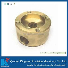 Kingsoon factory direct sale Competitive Mass production brass CNC Machining parts