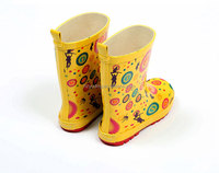 Fashion Multi Colors Natural Rubber Kid Gumboots