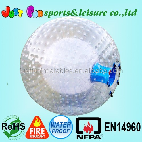 human hamster ball,Cheap price grass zorbing ball, durable Inflatable Zorb Ball for sale