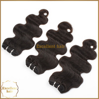 Full Cuticle Smooth Black Body Wave Unprocessed Remy Wholesale Human Brazilian Hair Dubai