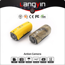 Promotional hd 1080p Sport action camera, easy intalled on helmet, bicycle,shotgun,arm ect.