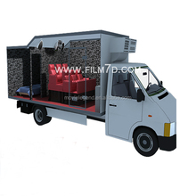 EU Standard 2014 New Product 7D Cinema / 7D Cinema Equipment / 7D Cinema Trailer For Sale