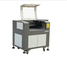 G.weike glass etching/curtain lead seals laser engraving machine LG6040