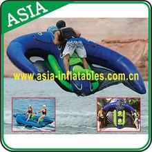 Commercial Grade Inflatable Manta Ray, Flying Manta Ray, Inflatable Water Ski Tubes For Business Rental
