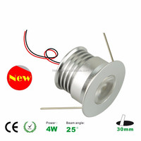 new design round 4W cabinet light led downlight mini