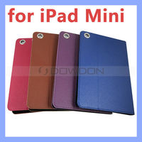 Color PU Leather Stand Smart Case for iPad Mini