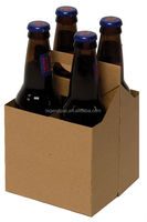 China manufacture paper packaging box for wine bottle carrier