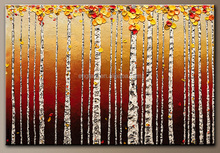 Modern abstract art painting for wall decor