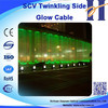 HUIYUAN Long Life fiber optic waterfall light curtain