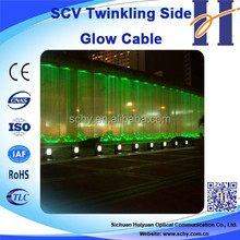 HUIYUAN Long Life fiber optic waterfall light curtain