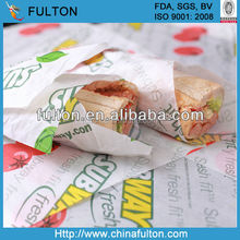 Food Standard Sandwich/Burger Wrapping Paper In Rolls