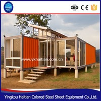 Full Finished Container House 20 Feet prefabricated house,prefabricated sea container home