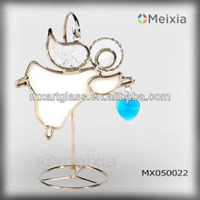 MX050022 wholesale tiffany art stained glass angel christmas decoration