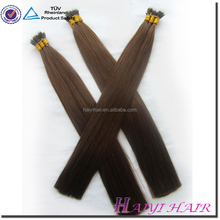 Remy double drawn full ends factory price nano ring hair extensions 6a