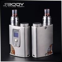 2015 exquisite mod s-body S-CA3 bottom feeder e cigarette vw 50w
