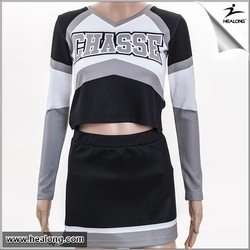 Hot Sale Good Quality full Sublimation Spandex Girl/Women/Ladies Cheerleading Uniforms
