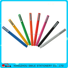 2015 Best Selling promotional plastic Point ball pen