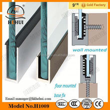 YY-529 aluminum balcony railing prices,home railing post,simple design cable railing