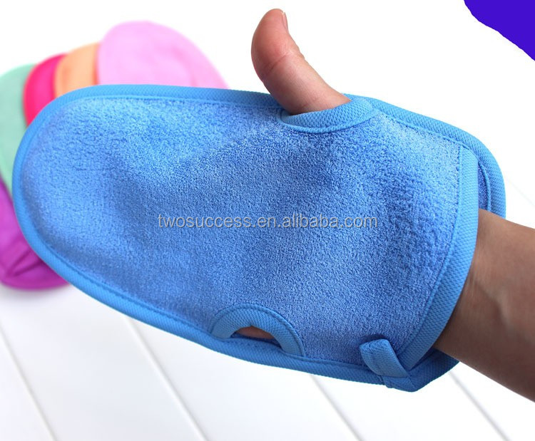 natural magic wash fiber hemp bath towel gloves (2)