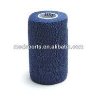 China supplier Latex free Hand tear fabric cohesive bandage