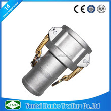 coupler 2inch aluminum cam lock quick coupling hose connectors