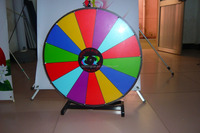 Advertising printing foamed board round Prize wheel