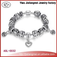 Promotion bracelet jewelry and novelties jewelry ,woman fashion Snake Chain bracelets with alloy bracelet