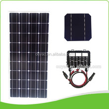 12v 100w solar panel also called 100w mono solar panel for solar power grid system