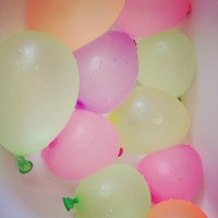 Big discount 1000 bags/lot wholsales water balloon ,water bomb ,3 inch latex balloon ,children toys