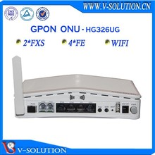 voip wifi ftth ont wireless networking equipment with 4fe+2pots