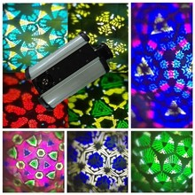 Band/ktv/dj/stage Effect Light 60w LED Rotating Panel Kaleidoscope