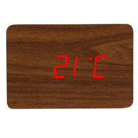 christmas countdown modern electronic wooden led digital desktop clock